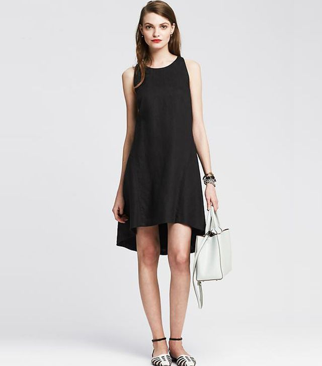 Banana Republic Linen Trapeze Dress