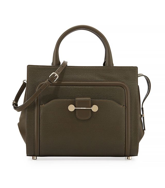 Jason Wu Daphne Cross Body Tote, Dark Olive