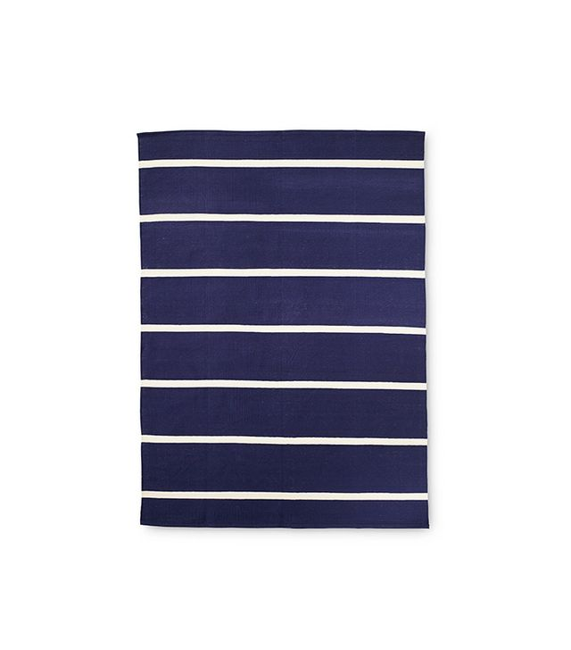 Serena & Lily Jersey Stripe Dhurrie