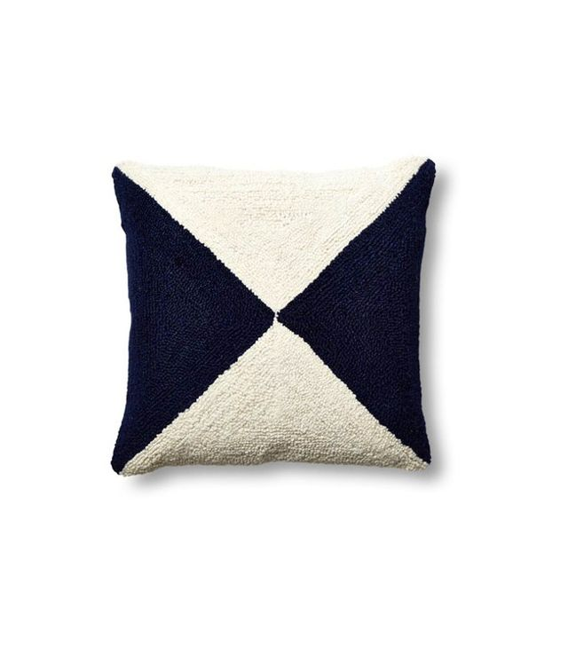 One Kings Lane Nautical Flag Pillow