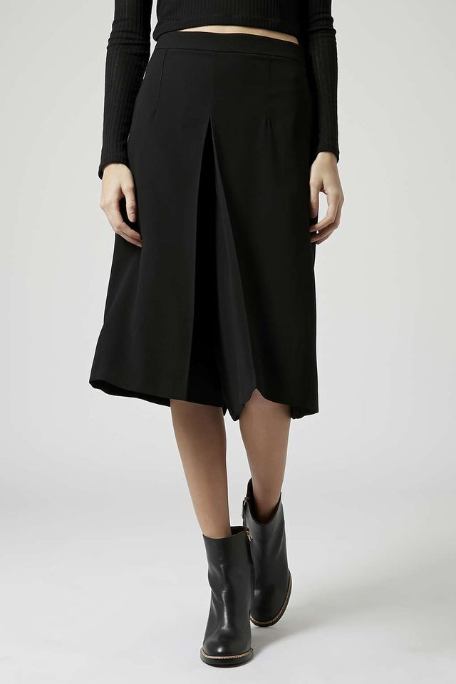 Topshop Box Pleat Culottes