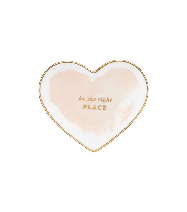 Kate Spade New York Posy Court Heart Dish
