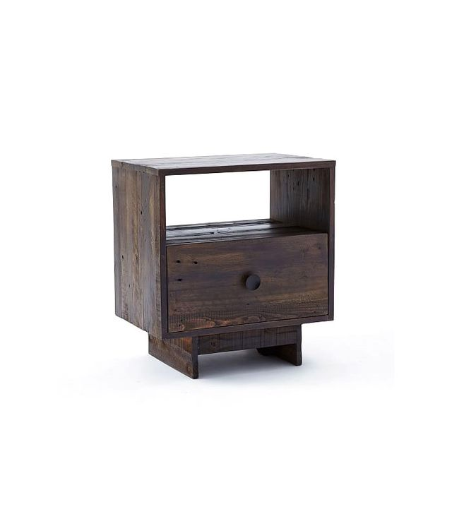 West Elm Emmerson Reclaimed Wood Nightstand - Chestnut