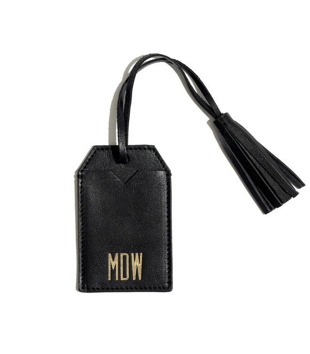 Madewell Tassel Luggage Tag