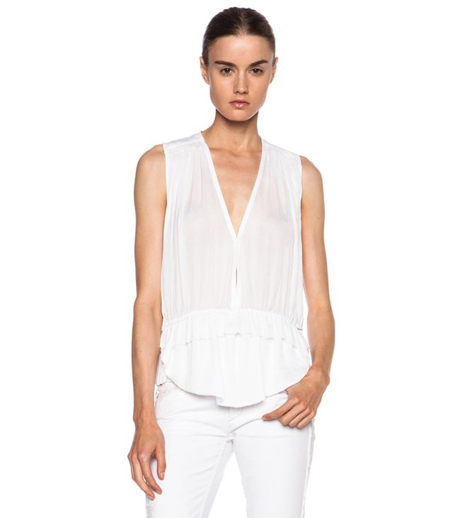 Isabel Marant Abigail Japanese Silk Top