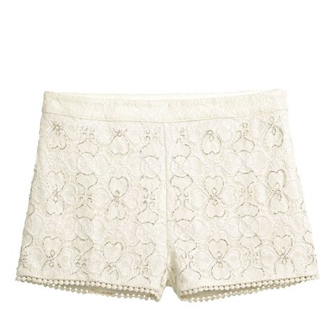 Beaded Lace Shorts