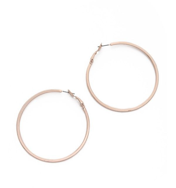 Adia Kibur Hoop Earrings