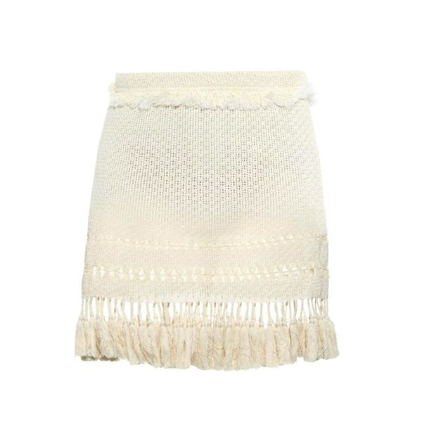 Isabel Marant Tifen Fringed Mini Skirt