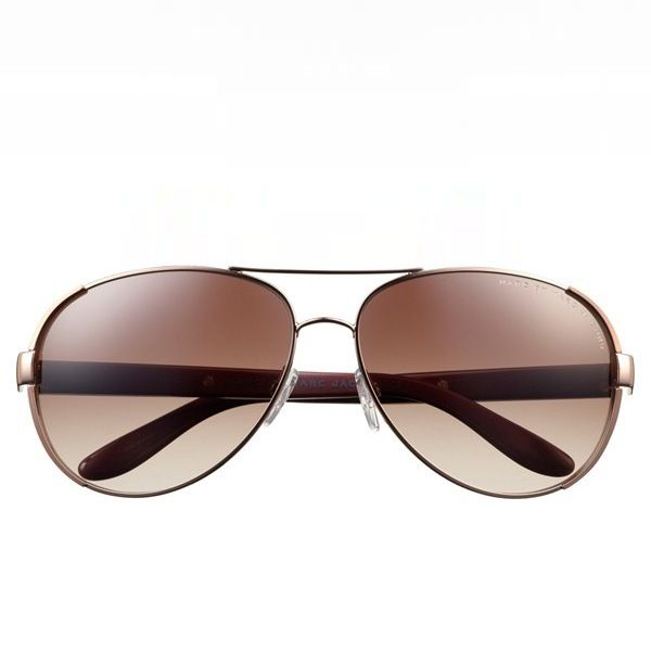 Marc by Marc Jacobs Stainless Steel Aviator Sunglasses