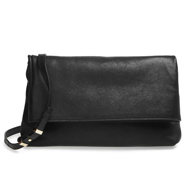Halogen Leather Crossbody Bag