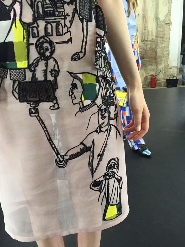 LOL: A Major Designer Just Put a Selfie Stick on a Dress