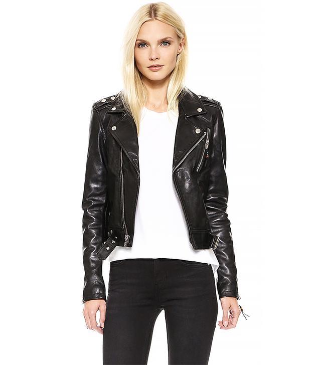 BLK DNM Leather Jacket 1, Black