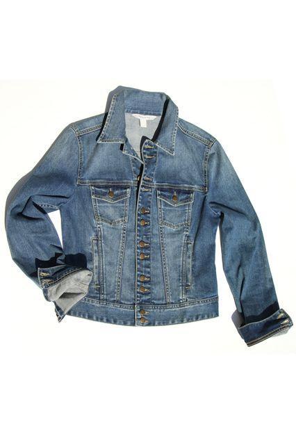 Boston Proper Denim Jacket
