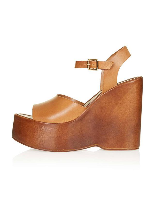 Topshop Wallflower Wedge Sandals