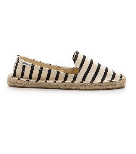 Soludos Striped Smoking Slippers