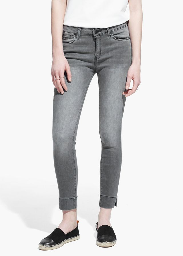 Mango Cropped Skinny-Fit Audrey Jeans