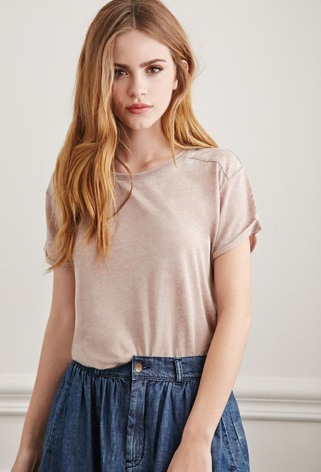 Forever 21 Burnout Tee