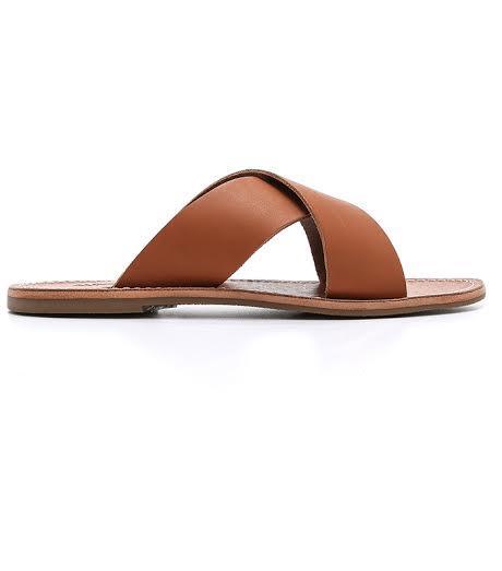 Madewell The Sightseer Slide Sandal
