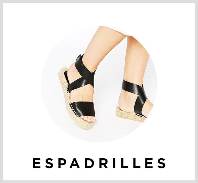 Scroll down to shop espadrilles under $200.