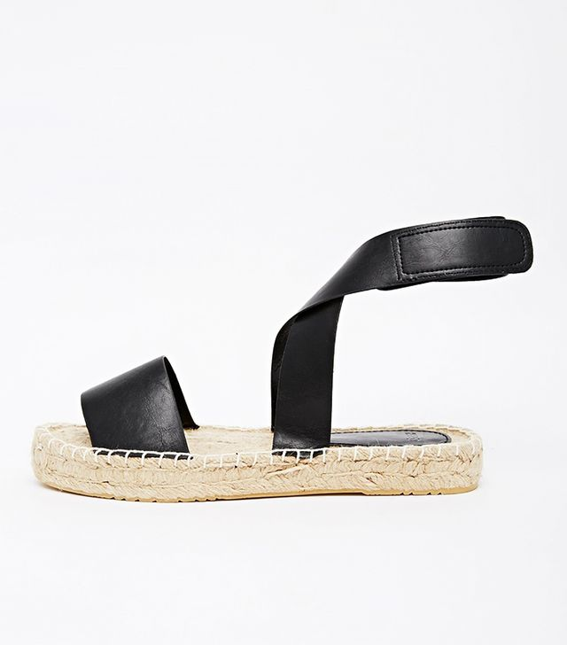 ASOS Jamestown Flatform Two Part Espadrilles