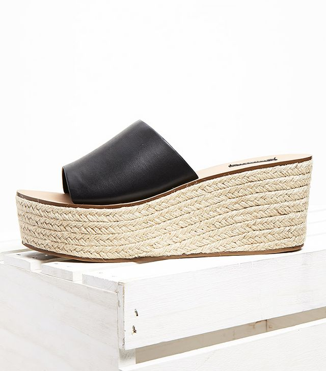 Forever 21 Faux Leather Espadrilles