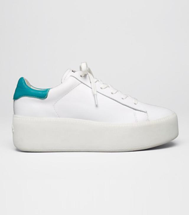 Ash Platform Lace-Up Sneakers