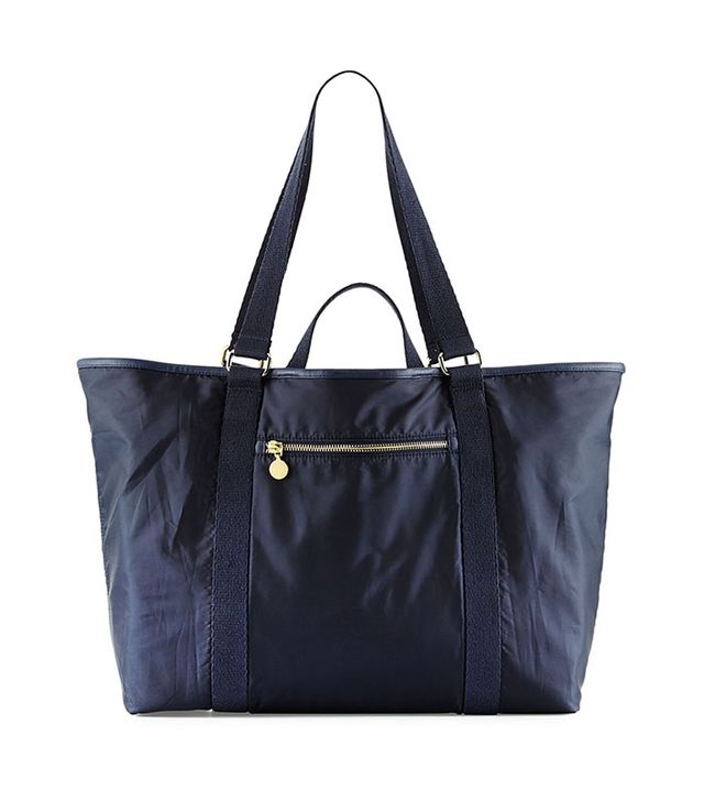 Stella McCartney Faux-Leather Trim Diaper Bag