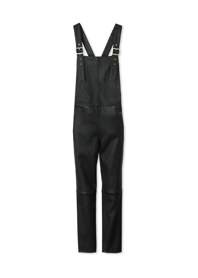 Maison de Reefur Stretch Leather Overalls