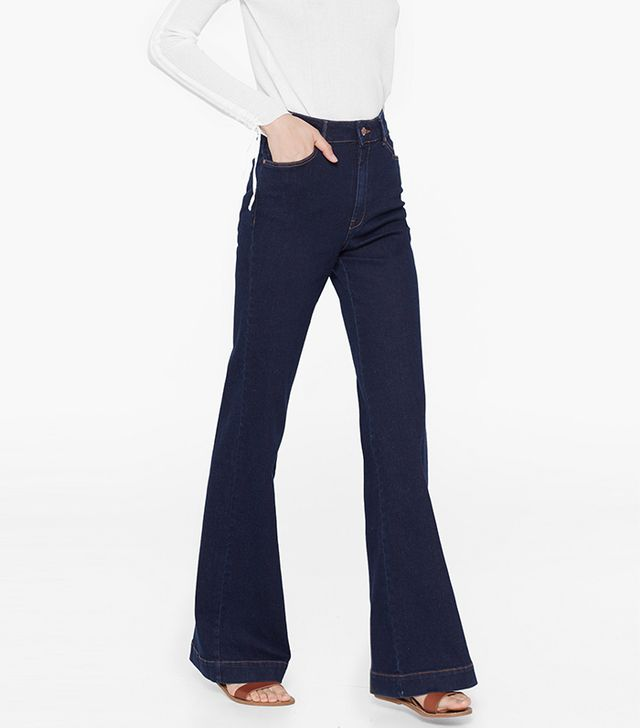 Mango Flared Martina Jeans