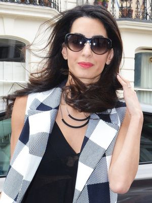 This Is How Amal Clooney Wears a Crop Top