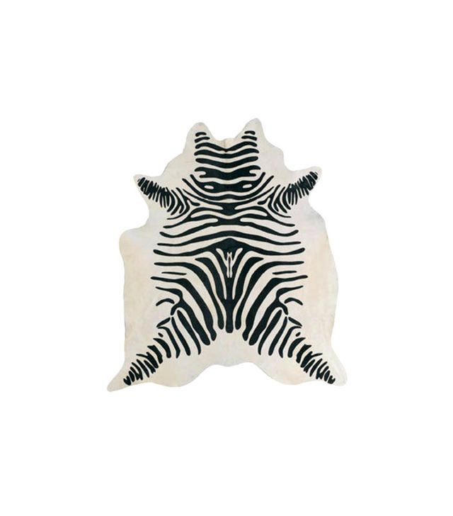 Etsy Zebra Print Cowhide