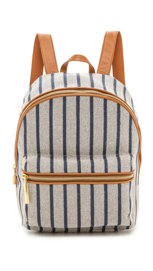 Elizabeth and James Striped Cynnie Backpack