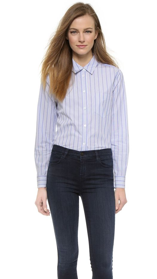 Equipment Reese Button-Up Top