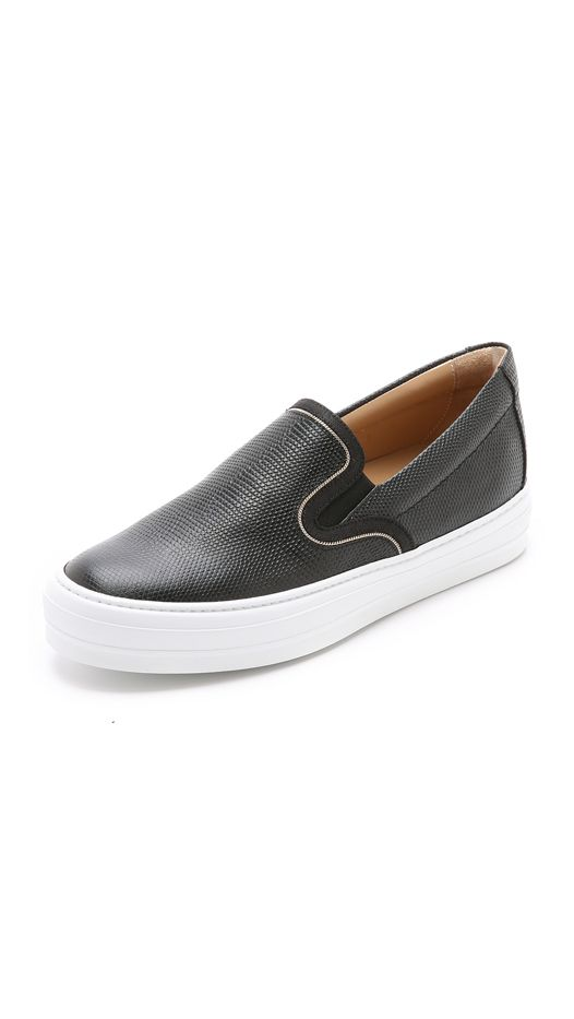 Salvatore Ferragamo Pacau Lux Slip On Sneakers