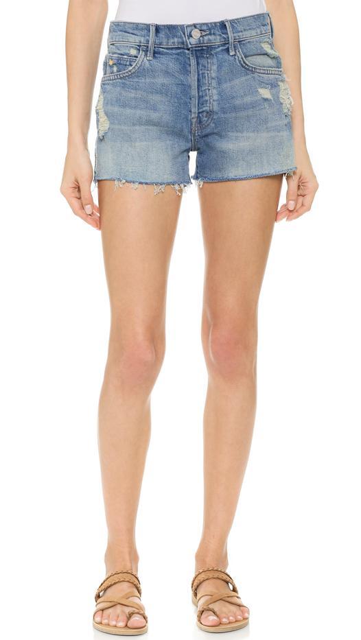 Mother Stunner Fray Shorts