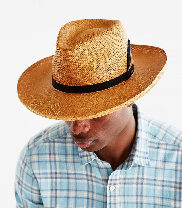 Bailey of Hollywood Fernley Wide-Brim Straw Fedora