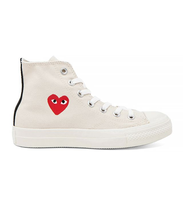 Comme des Garcons Play Converse High-Top Sneakers