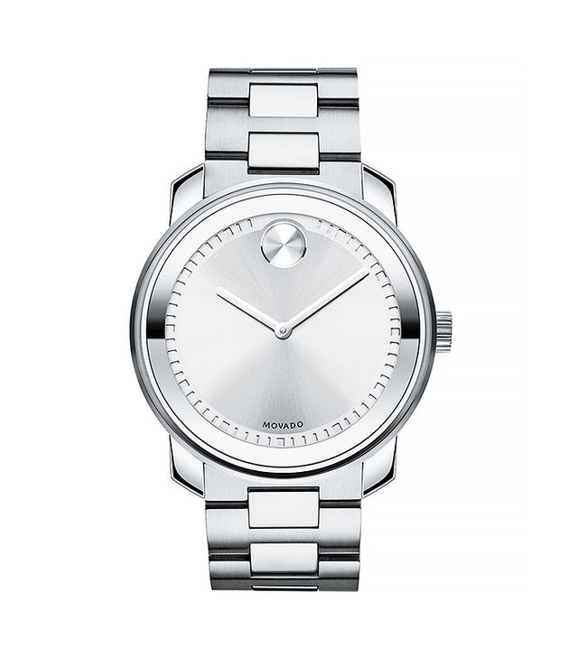 Movado Bold 42.5 Stainless Steel Watch