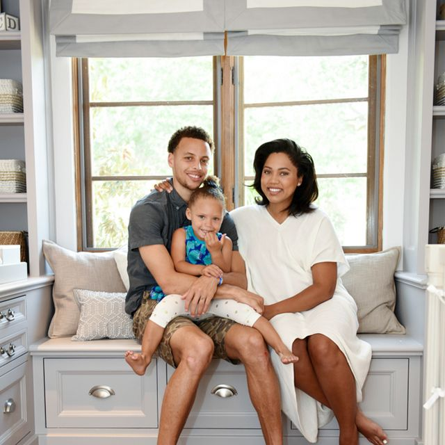 Inside Steph and Ayesha Curry's Fresh New Nursery