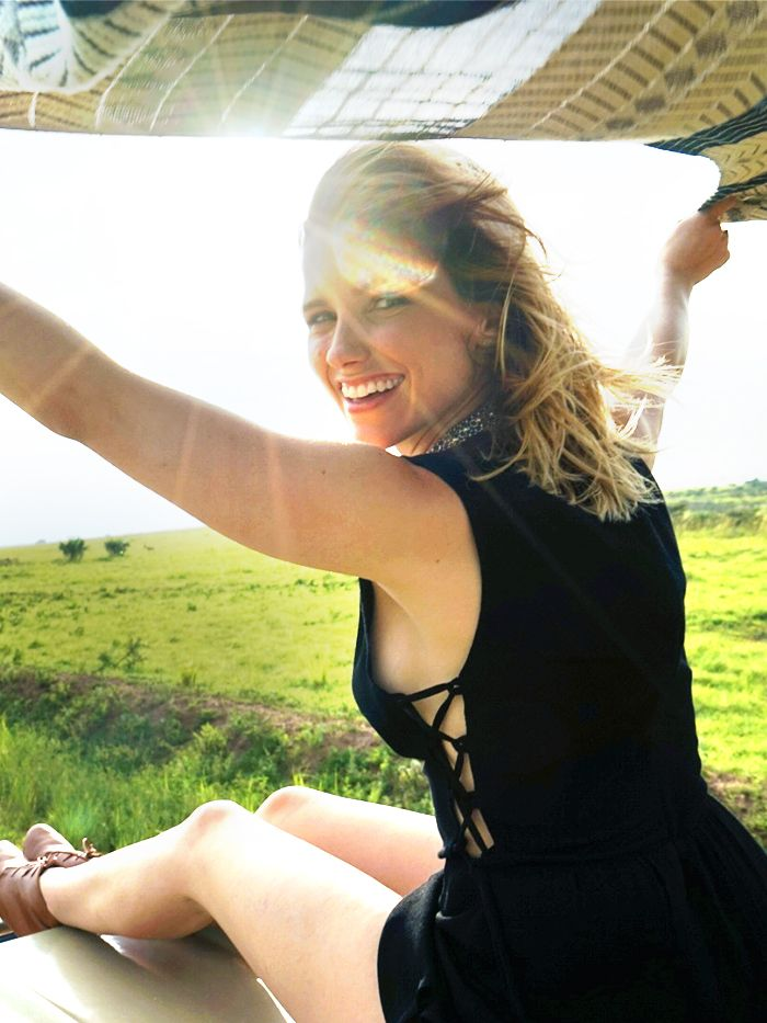 A Peek Inside Sophia Bush S Safari Bound Suitcase Who