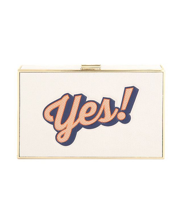 Anya Hindmarch Yes/No Imperial Clutch