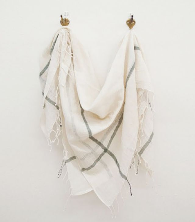 Sseko Designs Ivory Square Scarf