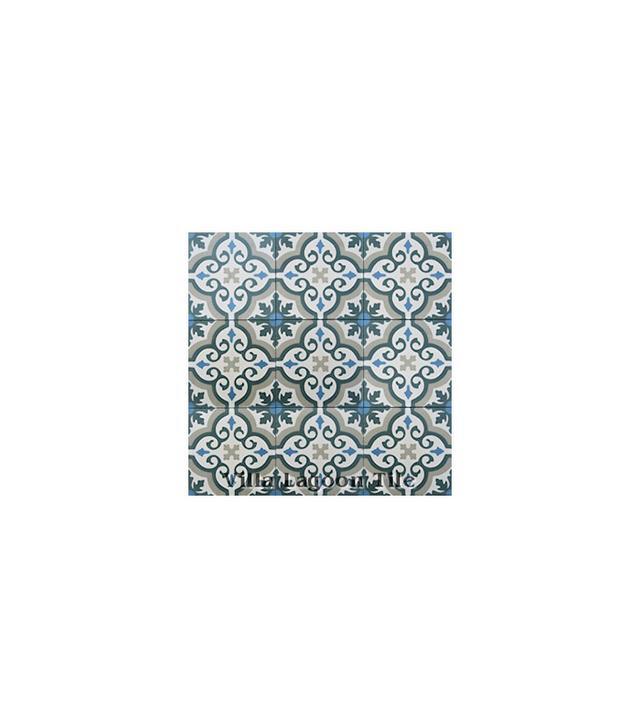 "Villa Lagoon Tile ""Fiore"" Cement Tile"