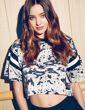 Miranda Kerr Goes Sporty Chic For Vogue Korea