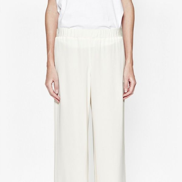 French Connection Fast Cassie Drape Wide Leg Trousers