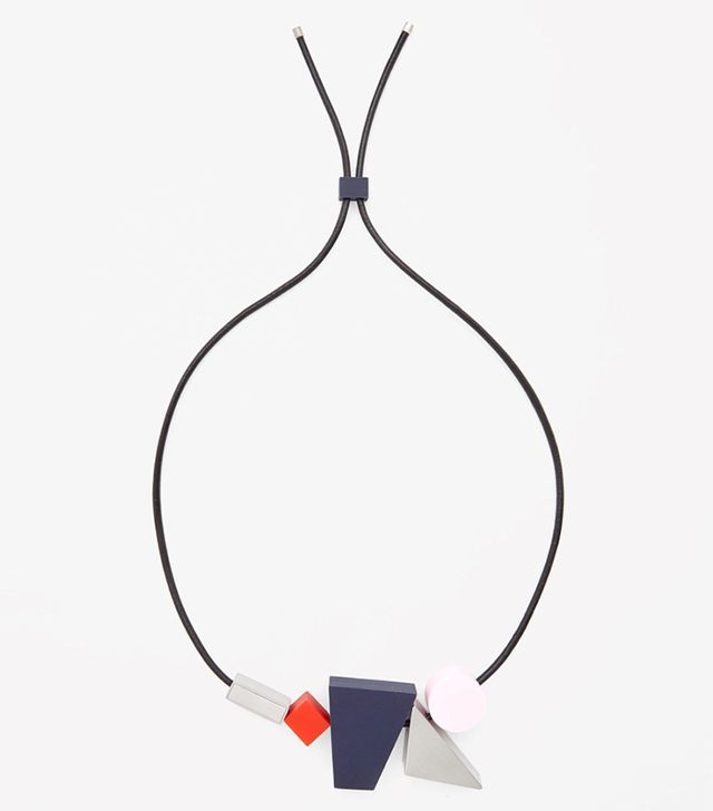 COS Contrast Block Necklace