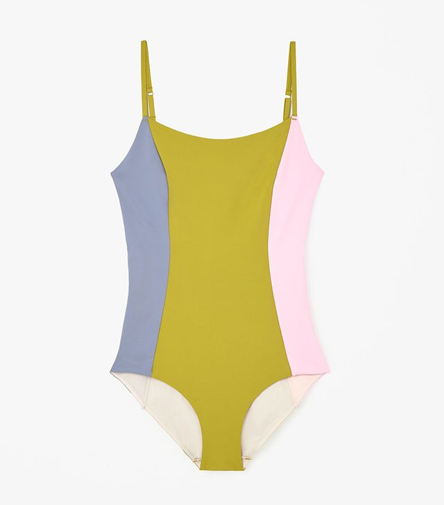 COS Block-Color Swimsuit