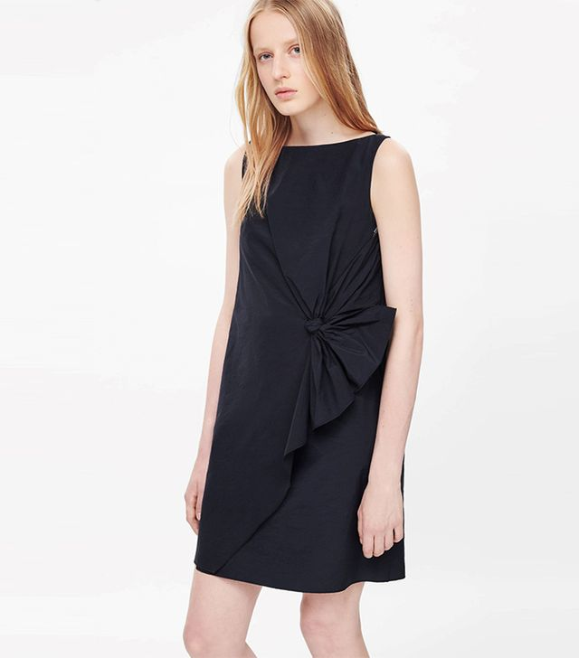 COS Tie Detail Dress