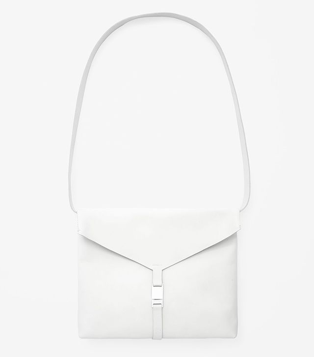 COS Raw-Edge Leather Bag
