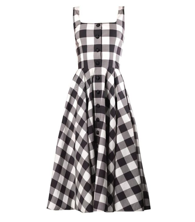 Dolce & Gabbana Vichy Gingham Dress